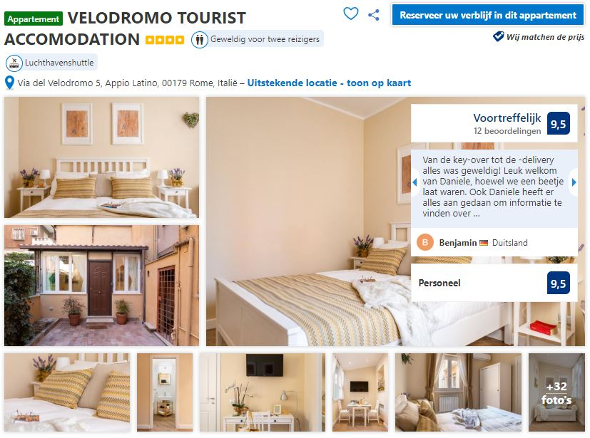 budgetvriendelijk-appartement-rome-veldromo-tourist-accomodation
