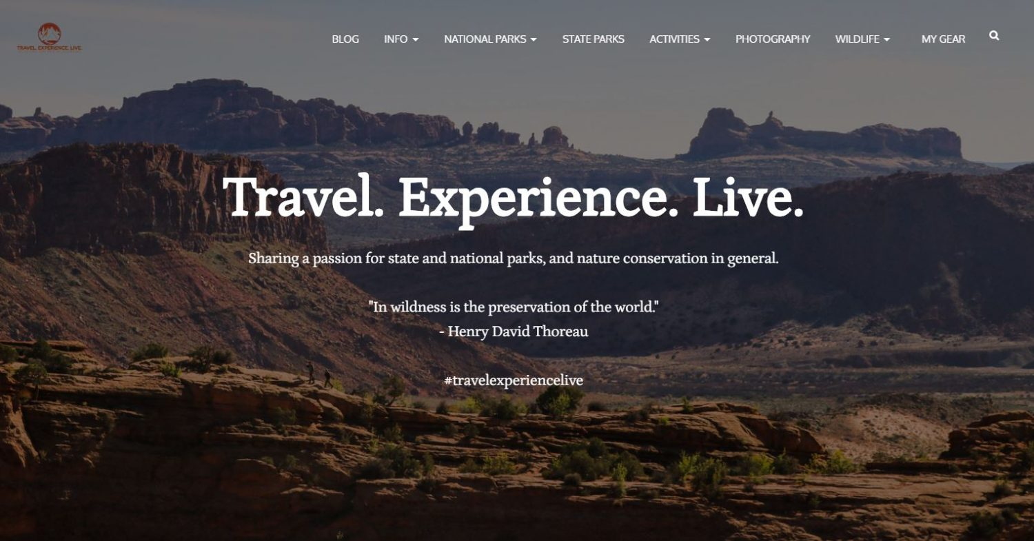 travel experience live blog